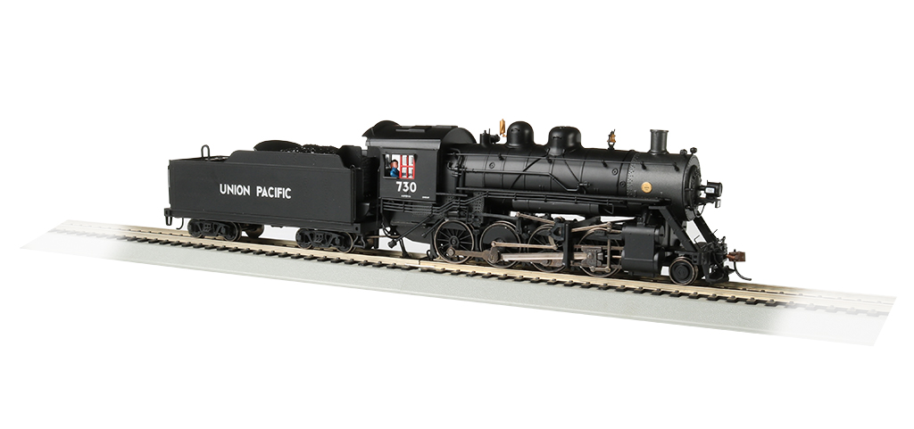 Bachmann HO Baldwin 2-8-0 Consolidation -UP® #730 - DCC + Sound
