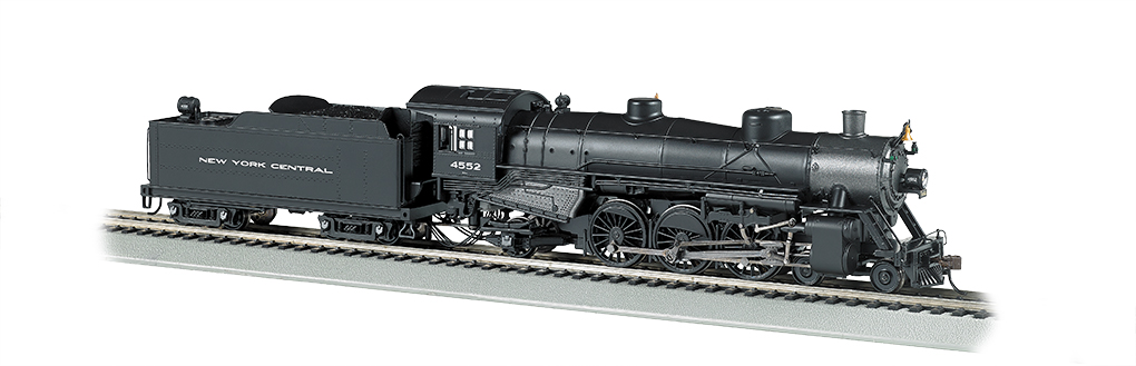 Bachmann HO 4-6-2 Light Pacific - NYC #4552 - DCC + Sound