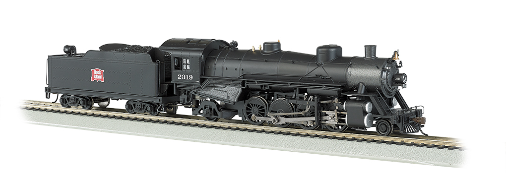 Bachmann HO Light Mikado 2-8-2 - Rock Island #2319