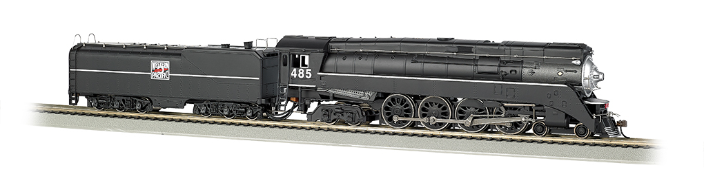 Bachmann HO GS64 4-8-4 - Western Pacific™ #485 - DCC