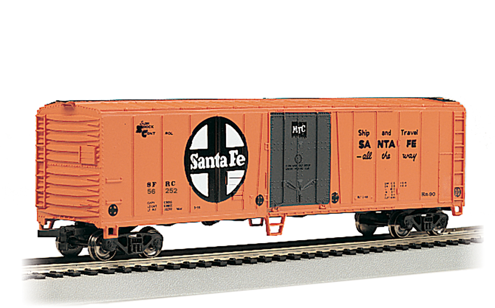 Bachmann HO 50 FT Steel Refrigerated - Santa Fe #56252