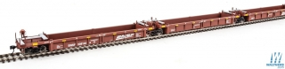 Walthers HO Thrall Rebuilt 40' Well Car - BNSF Railway #238298 A-E - sada 5ks