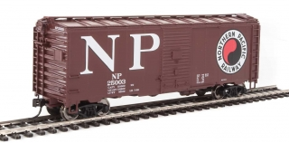 Walthers Mainline HO 40´ AAR 1944 Boxcar - Northern Pacific #25034