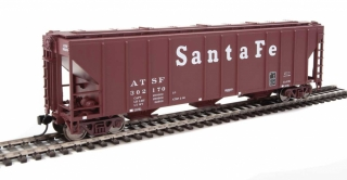 Walthers  50' Pullman-Standard PS-2 Covered Hopper - Santa Fe #302170