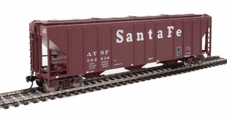 Walthers  50' Pullman-Standard PS-2 Covered Hopper - Santa Fe #302930