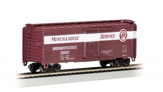 Bachmann HO 40 FT Box Car - PRR Merchandise Service