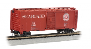 Bachmann HO 40 FT Box Car - Seaboard® #24963