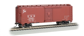 Bachmann HO 40 FT Steam Era Box Car - Delaware & Hudson