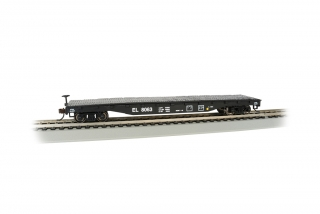 Bachmann HO 52 FT Flat Car - Erie Lackawanna #8063