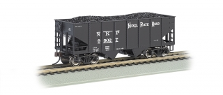 Bachmann HO 55-Ton 2-Bay Hopper - Nickel Plate Road