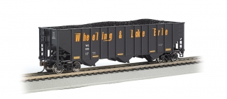 Bachmann HO 100-Ton 3-Bay Hopper - Wheeling & Lake Erie #606