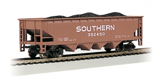 Bachmann HO 40 FT 4-Bay Hopper - Southern