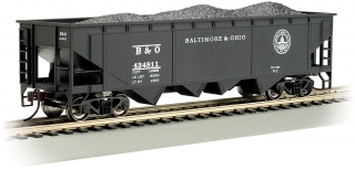 Bachmann HO 40 FT 4-Bay Hopper - Baltimore & Ohio® #434811