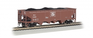 Bachmann HO 40 FT 4-Bay Hopper - Rock Island
