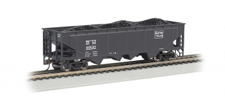 Bachmann HO 40 FT 4-Bay Hopper - Boston & Maine