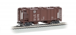 Bachmann HO PS-2 Covered Hopper - Santa Fe