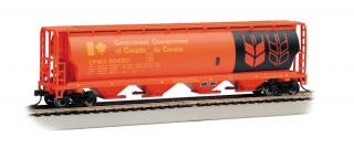 Bachmann HO 4 Bay Cylindrical Grain Hopper - Government of Canada