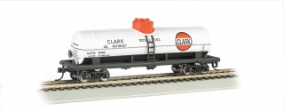 Bachmann HO 40 FT Single-Dome Tank Car - Clark #9485