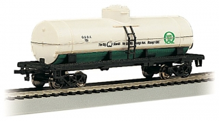 Bachmann HO 40 FT Single-Dome Tank Car - Quaker State #781