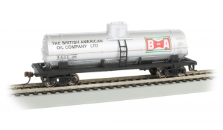 Bachmann HO 40 FT Single-Dome Tank Car - British American Oil