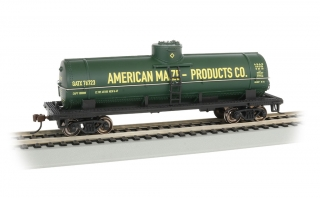Bachmann HO 40 FT Single-Dome Tank Car - American Maize Products Co