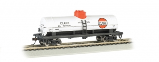 Bachmann HO 40 FT Single-Dome Tank Car - Clark