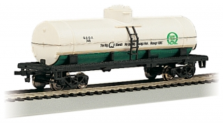 Bachmann HO 40 FT Single-Dome Tank Car - Quaker State
