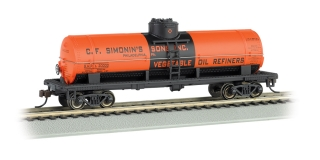 Bachmann HO 40 FT Single-Dome Tank Car - C.F. Simonin's Sons, Inc.