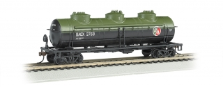 Bachmann HO 40 FT Three-Dome Tank Car - British American Oil #BAOX 3769