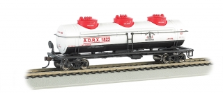 Bachmann HO 40 FT Three-Dome Tank Car - Allegheny Refining