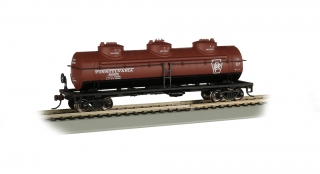 Bachmann HO 40 FT Three-Dome Tank Car - Pennsylvania #498655