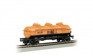 Bachmann HO 40 FT Three-Dome Tank Car - Shell #1258