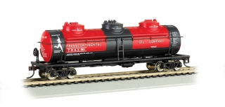 Bachmann HO 40 FT Three-Dome Tank Car - Transcontinental Oil Company