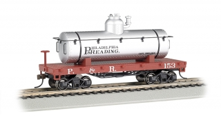 Bachmann HO Old-Time Tank Car - Philadelphia & Reading