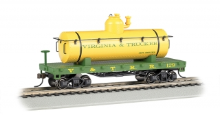 Bachmann HO Old-Time Tank Car - Virginia & Truckee