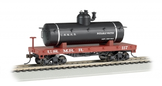 Bachmann HO Old-Time Tank Car - US Military Railroad