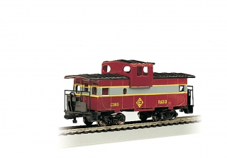 Bachmann HO 36 FT Wide-Vision Caboose - Erie Lackawanna #C365
