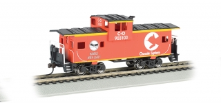 Bachmann HO 36 FT Wide-Vision Caboose - Chessie®