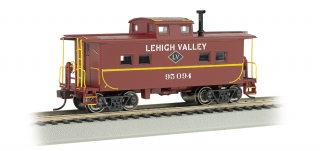Bachmann HO Northeast Steel Caboose - Lehigh Valley #95094