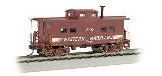 Bachmann HO Northeast Steel Caboose - Western Maryland® #1858