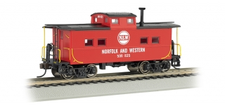 Bachmann HO Northeast Steel Caboose - Norfolk & Western
