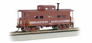 Bachmann HO Northeast Steel Caboose - Western Maryland® #1863