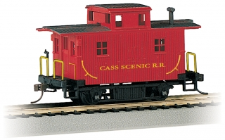 Bachmann HO Bobber Cabooses - Cass Scenic R.R.