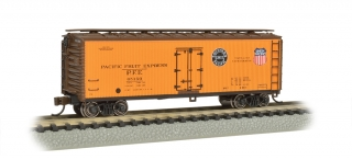 Bachmann N 40 FT Wood-side Refrigerated - Pacific Fruit Express™