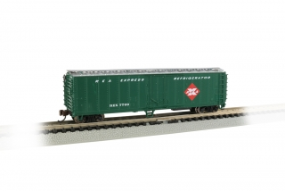 Bachmann N 50 FT Steel Reefer - Railway Express