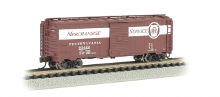 Bachmann N 40 FT Box Car - Pennsylvania Merchandise Service