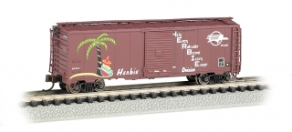 Bachmann N 40 FT Box Car - UP - Missouri Pacific™ - HERBIE