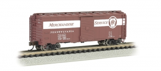 Bachmann N 40 FT Box Car - UP - PRR #92419 Merchandise Service