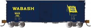 Bachmann N 40 FT Box Car - Wabash
