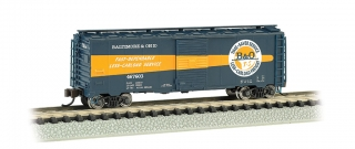 Bachmann N 40 FT Box Car - B&O® Timesaver #467603